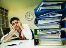 pomoc, SOS, stres, únava, napätie, práca, strach