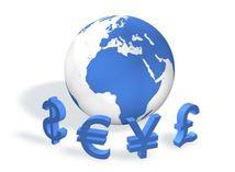 Dolár, libra, jen, mena, peniaze
