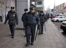 polícia, rusko, policajti