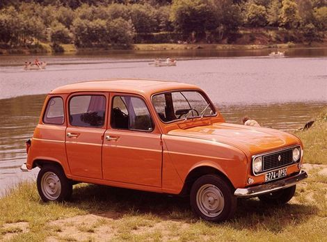Planet Dcars 1969 Renault 4 Van