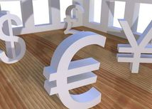 Peniaze, libra, dolár, euro, jen