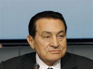 Egyptský prezident Husní