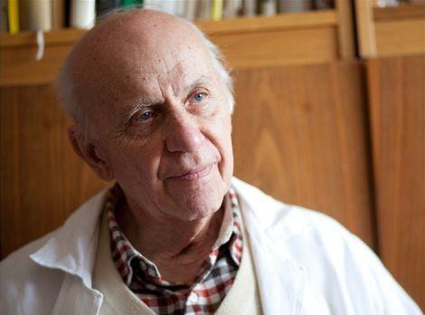 Mikrobiológ Libor Ebringer.