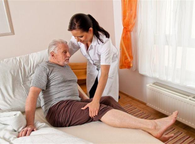 opatrovateľka, dôchodca, nemocnica, domov, dôchodcov