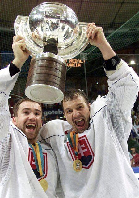 Zlatí Žigmund Pálffy a Peter Bondra.