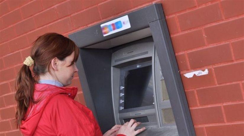 Bankomat mi nevydal peniaze