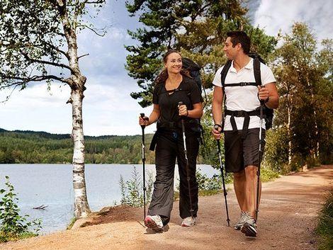 Nordic walking - chôdza - palice - prechádzka