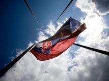 slovenská zástava, vlajka