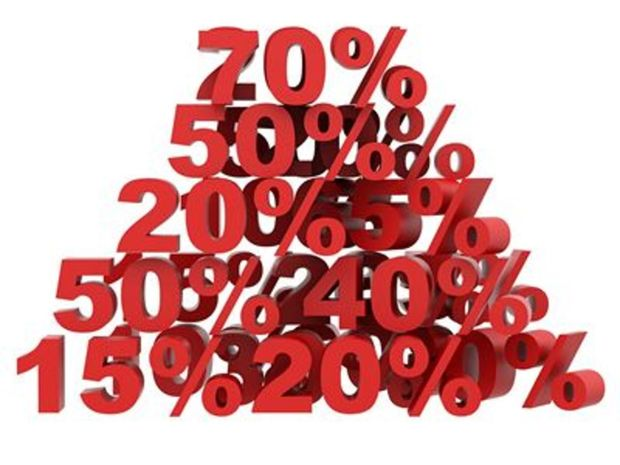 Peniaze, percento