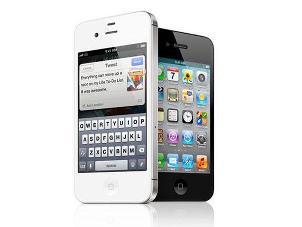 iPhone 4S, telefón, Apple, smartfón