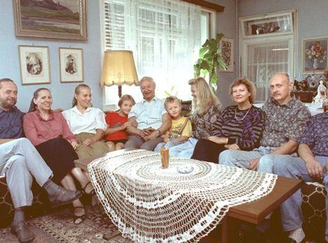 Široká rodina Dubčekovcov.