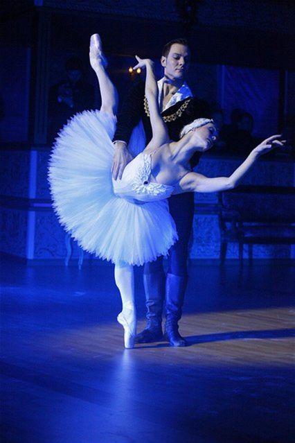Baletné vystúpenie Jurgity Droniny a Cédrica Ygnaceho nadchlo prítomných hostí.