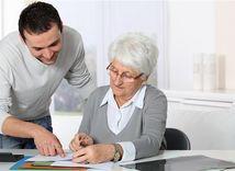dôchodca, dôchodkyňa, pracujúci, dôchodok, zmluva