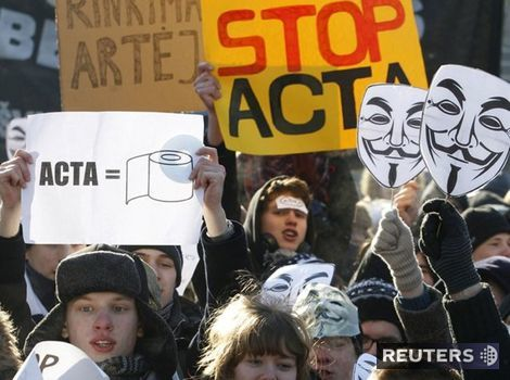 ACTA, protest