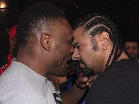 Derek Chisora, David Haye
