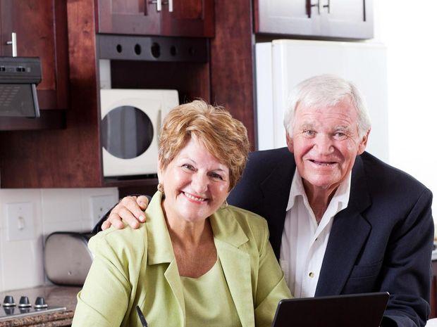 manželia, dôchodcovia, dôchodca, dôchodok