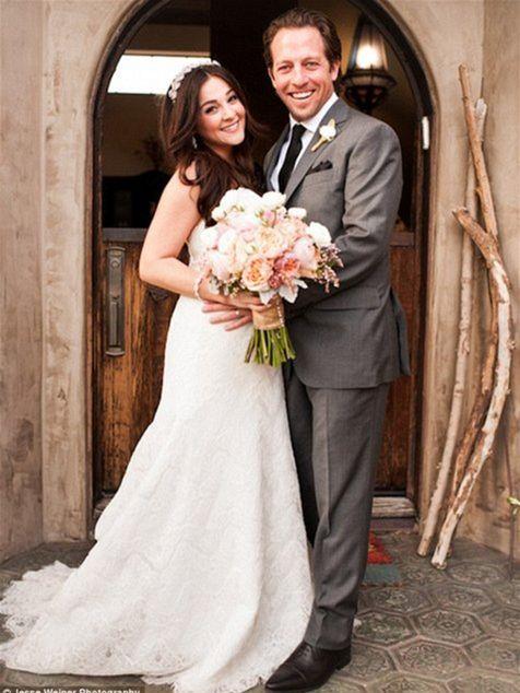Herečka Alison Porter sa vydala za dlhoročného priateľa Briana Autenrietha.