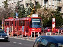 električka, MHD, doprava