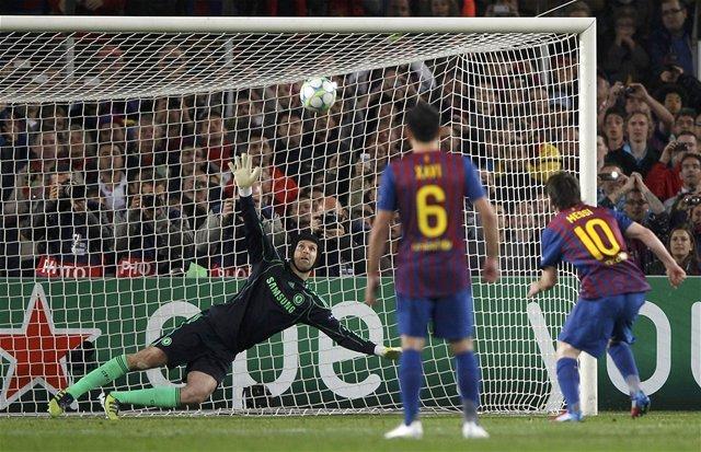 Lionel Messi zahodil v stretnutí jedenástku.