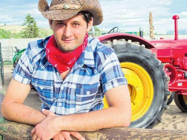 Farmár, traktor