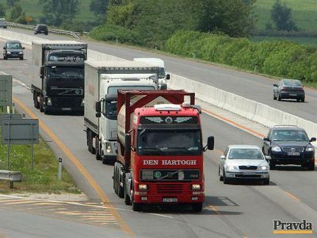 Kamión, diaľnica