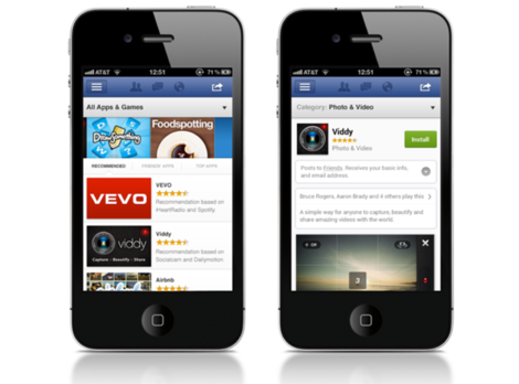 Facebook-socialna-siet-app-center-iphone-mobil-smartfon-online-obchod