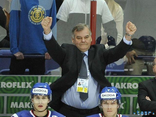 Radosť Vladimíra Vůjteka po záverečnom hvizde hlavného rozhodcu v zápase proti Francúzsku.