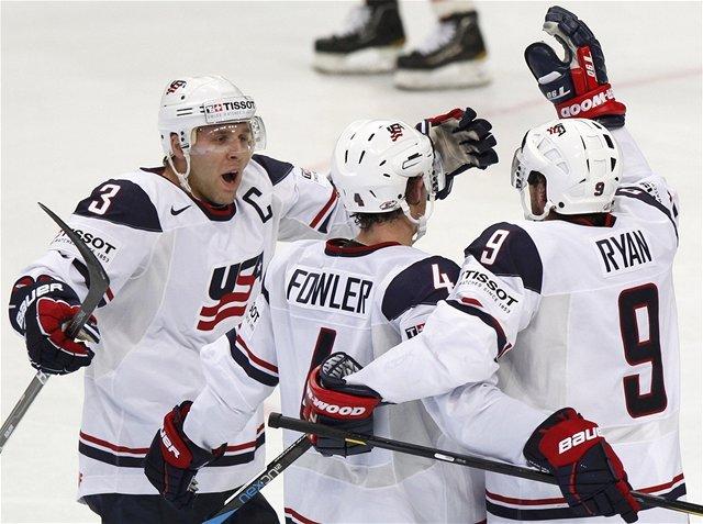Gólová radosť hráčov USA.