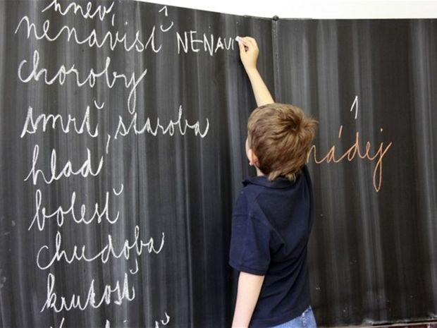 škola, žiak, študent, vyučovanie, tabuľa