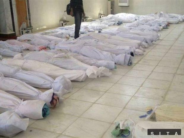 sýria, mrtvoly