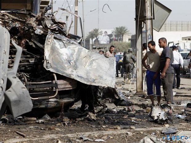 Irak, radikáli, bombový výbuch, Bagdad