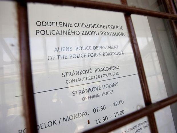 cudzinecká polícia