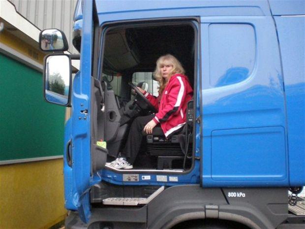 Jarmila Pristašová, kamionistka