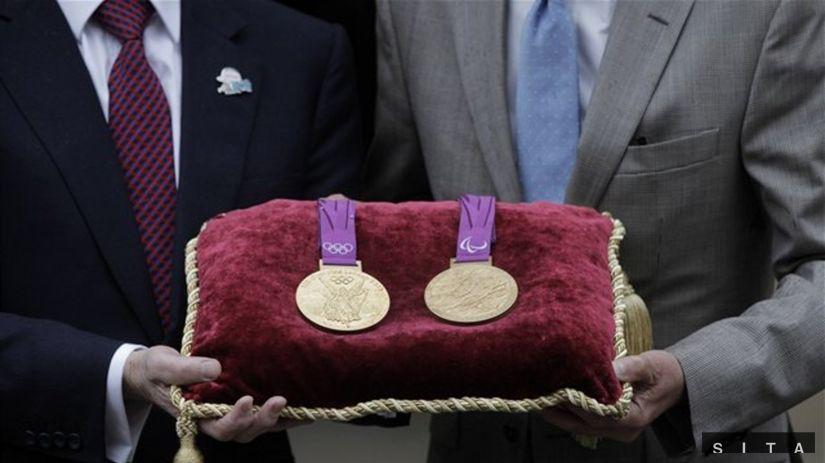 Zlatá medaila z Londýna je najťažšia a jedna z najdrahších - OH 2012 -  Londýn - Šport - Pravda.sk eaab0989d93