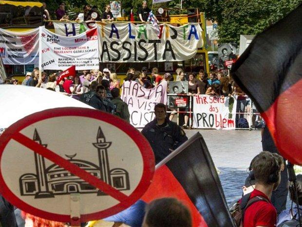 demonštrácia, Nemecko