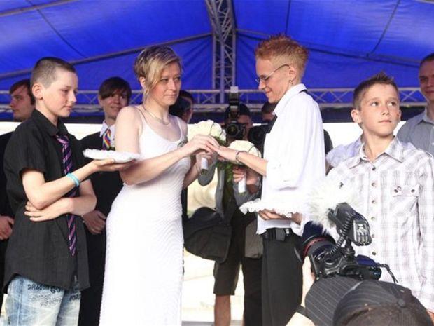 Dúhový Pride, svadba