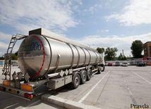 Kamión, ropa, palivo, benzín, nafta, tanker