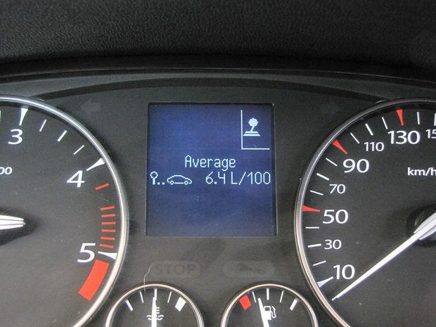 S motorom 2.0 dCi sme jazdili približne za 6,4 l/100 km.