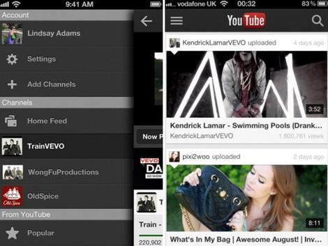 youtube, iphone, mobil