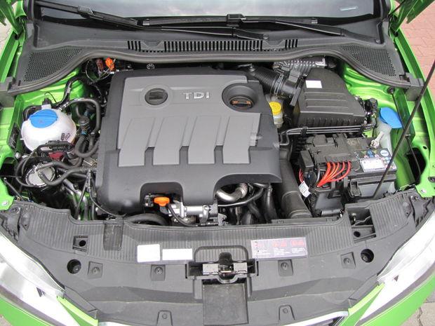 Turbodiesel 1.6 TDI CR je dobrým motorom, v malom aute však predstavuje zbytočný luxus.