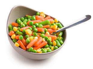Zeleninový šalát - ilustračné foto.
