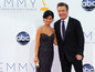 Herec Alec Baldwin prišiel na ceremoniál s manželkou Hilariou Thomas.