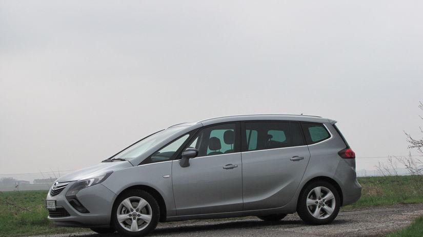 Test Opel Zafira Tourer 20 Cdti Pre Siedmich Len Za Prplatok