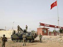 tureckí vojaci, Turecko, Sýria