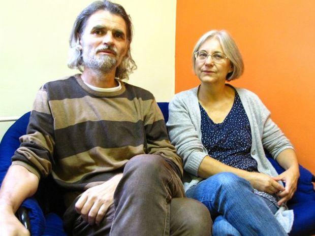 Manželia Ivan a Mária Leitmanovci