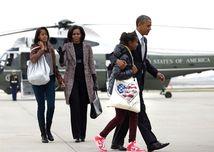 Obama s rodinou