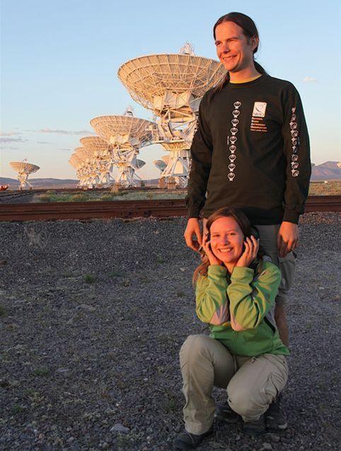 Norbert Werner s manželkou Aurorou pri observatóriu Mauna Kea na Havajských ostrovoch.