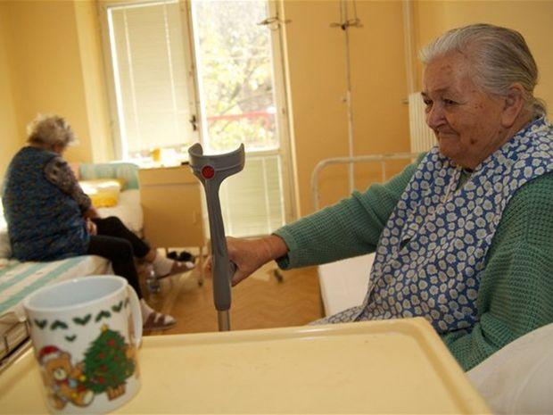 nemocnica, pacient, staroba
