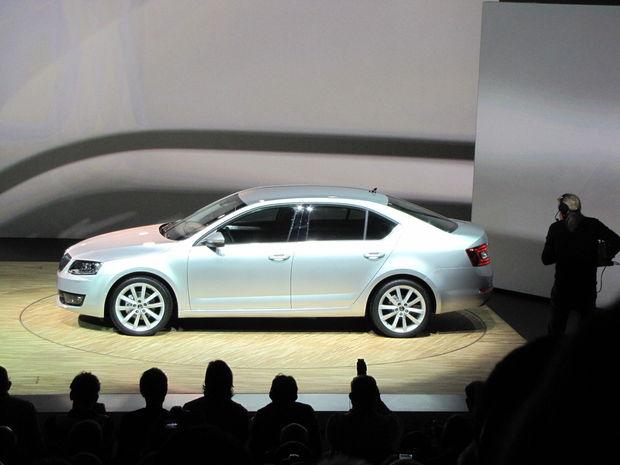 Koeficient aerodynamického odporu novej Octavie má hodnotu 0,29.