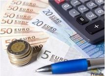 (typo - nepouzivat v orise) Euro, peniaze, kalkulačka